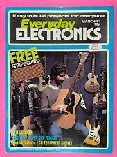 EVERYDAY ELECTRONICS - Magazine - Guitar Tuner - Pocket Timer - March 1982