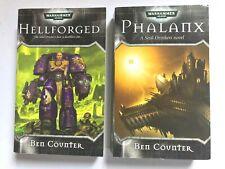 HELLFORGED + PHALANX - Ben Coulter (Paperback) Soul Drinkers WARHAMMER 40K