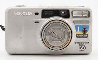 Minolta Freedom Zoom 160 Date Kompaktkamera Kamera - 37.5-160mm Aspherical Zoom