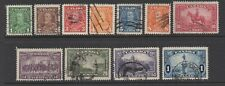Canada Sc#217-27 George V Definitives,1935, Used VF