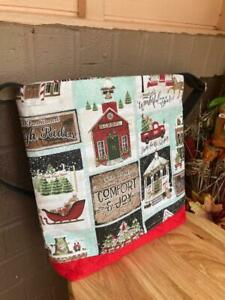 Christmas's Quilted Crossbody Bag
