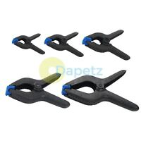 Quality Spring Clamps Small - Extra Large Nylon Plastic Quick Grips Craft Clamp
