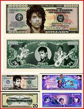 PRINCE Lot X3 BILLETS MILLION DOLLAR US! LOVE SYMBOL Funk Rock Purple Rain Cloud