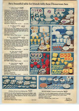 1977 PAPER AD Winnie The Pooh Toy Tea Set Coening Ware Revere Ware Cooking Pots