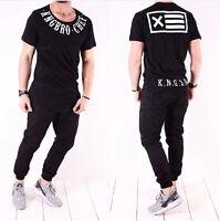 Oversize T-Shirt Schwarz Weiß Herren Design Shirt Kurzarm Clubwwar Xs-Xl NEU