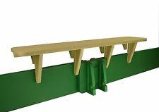 Sandlock Sandbox Bench Seat Kit for covered kids backyard sandbox
