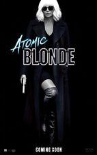 Atomic Blonde - original DS movie poster - 27x40 D/S 2017 MINT