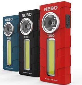Nebo TiNO NE6809 Spot Light Work Lamp 2 in 1 300 Lumen Magnetic & Dimmable