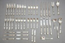 Gorham Buttercup Sterling Silver Flatware Set, No Mono, Service for 8 – 46 Piece