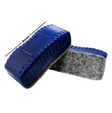 2 x Mini Magnetic Whiteboard Eraser. Drywipe Board Rubber. Small / Mini Wiper.