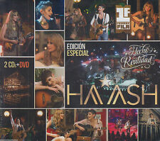 CD - Haash 2 CD's / 1 DVD Hecho Realidad Primera Fila OJO FAST SHIPPING !
