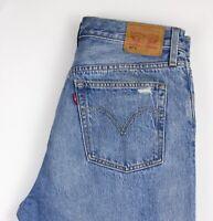 Levi's Strauss & Co Uomo 501 S Slim Dritto Affliggere Jeans Taglia W32 L32