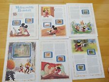 Disney Mickey and the Beanstalk Story Stamps Mongolia 1984 Disney