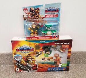 Brand New Skylander Superchargers Starter Pack For Wii U + Hammer Slam Bowser