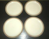 "(4) Noritake MADERA IVORY 8 1/4"" Salad Plates"