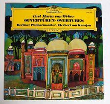 Von Weber, Ouvertüren, Herbert von Karajan [DGG 2530 315]