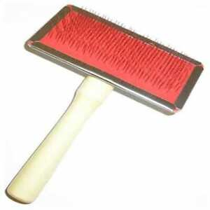 Rug Brush For Pets Or Rugs Sheepskin And Wool Care Accessories Wooden Handle