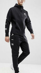 Nike Tracksuit Air Tracksuit Limited Edition Mens £99.99 Hoodie Jogger Black