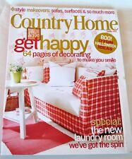 COUNTRY HOME Magazine October 2003 Boo! 17 Fun Halloween Ideas
