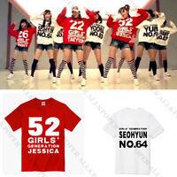KPOP Girls' Generation T-shirt Tshirt SNSD Tee TaeYeon Yoona Unisex Cotton