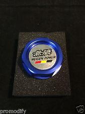 Blue MUGEN STYLE Alloy Oil Filler Billet Cap Honda EF EG EK ES CRX DC2 FD2 FN2