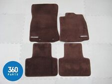 NEW GENUINE JAGUAR XJ SWB X351 SUPERSPORT FLOOR CARPET MATS RHD BORDEAUX RED