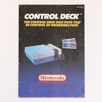 Nintendo Entertainment System (NES) 'Control Deck' Original Manual [NES-AUS-3]