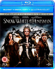 SNOW WHITE & THE HUNTSMAN Extended Edition 2012 Blu-ray Disc NEW Kristen Stewart