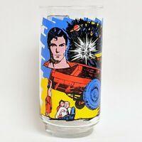 Vintage 1978 Pepsi Collectors Glass Superman The Movie Kal-el DC Comics