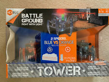 NEW HEXBUG Battle Ground Tower With 2 Spiders Deluxe Playset Birthday Gift