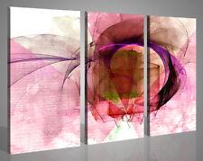 Quadri astratti Purple Waves stampe su tela canvas arte moderna 130x90 telaio