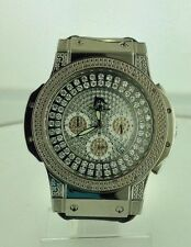 NEW Techno Master TM-2115 Watch Men's 1/4 CTS White Diamond