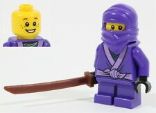 NEW LEGO NINJAGO LITTLE NELSON MINIFIGURE 70589 PURPLE NINJA - GENUINE
