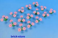 LEGO fiori rosa / Piante / 15 pz.