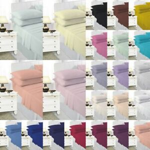 Misketch Base Valance Extra Deep 40cm 16in Sheets, Pillow Cases