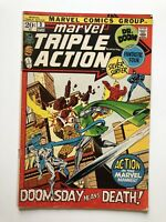 Marvel Triple Action #3 Fantastic Four Silver Surfer Dr. Doom Vintage