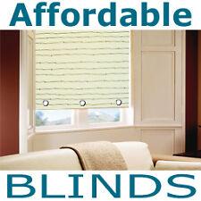 Raindrop Gold Cream 60cm Eyelet Roller Blind Blinds 2ft