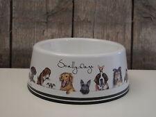 Ashdene - Hundenapf aus Melamin - Scally Wags - klein - für Futter oder Wasser