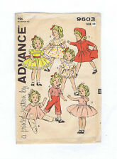 "8813-9603 Vintage Chubby Doll Pattern - Size 15"" - Year 1949"