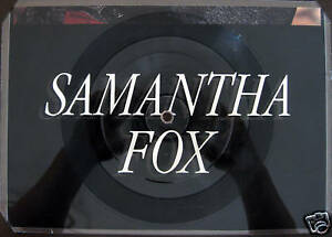 SAMANTHA FOX  / PICTURE VINYL / LIMITED / RARITÄT /