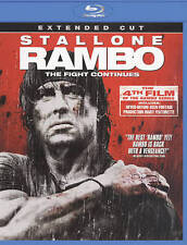 Rambo (Blu-ray Disc, 2010, Extended Cut)