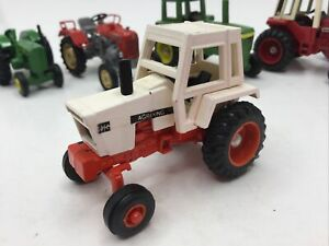 "ERTL CASE IH AGRIKING WHITE TRACTOR DIE CAST 2 1/2"" LONG 1:64 Scale"
