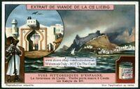 Spain Ceuta Morocco Mediterranean Africa c1917 Trade Ad Card