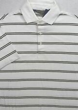 Polo Golf Ralph Lauren Pima Cotton Stripe Stretch Shirt Size L NWT $95