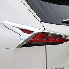 NEW Chrome Rear Tail Light Trim For Lexus NX200T NX300H 2015 2016 2017