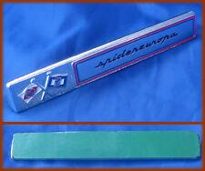 FIAT 124 SPIDER EUROPA - Logo Emblem Schriftzug PININFARINA Armaturenbrett