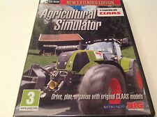 AGRICULTURAL SIMULATOR EXTENDED EDITION PC XP/VISTA/7 SEALED NEW - F