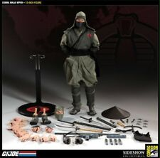 "Sideshow SDCC Exclusive Cobra Viper Green Ninja 1/6 Scale 12"" GI Joe Figure New"