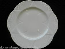 Shelley Bone White Regency Gold Trim Dinner Plate