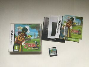 The Legend of Zelda Spirit Tracks Nintendo DS PAL Complete CIB